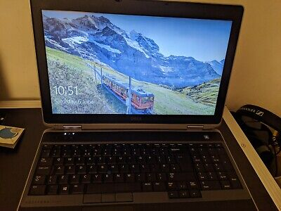 Dell Latitude E6530 Laptop / Intel Core i5 2.6 GHz
