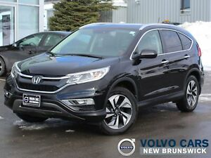 2015 Honda CR-V Touring AWD | HEATED LEATHER | NAV | BACK UP...