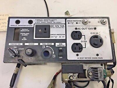Honda Eu3000is Control Panel - 32340-zs9-t31