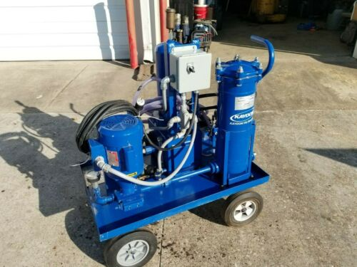 Kaydon Turbo Toc Turbine Oil Conditioner water removal centrifuge filter cart