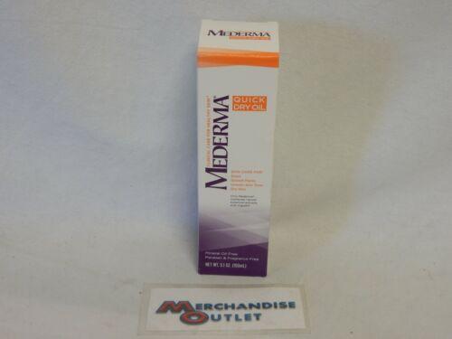 Mederma Quick Dry Oil. 5.1oz bottle (NEW)
