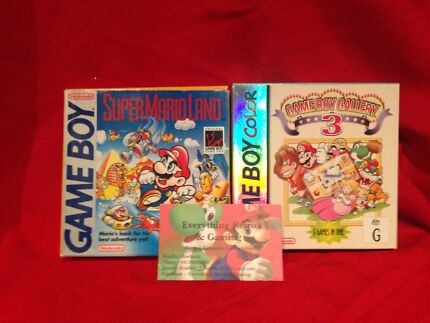 Buying all Boxed Gameboy Games and Gameboys North Perth Vincent Area Preview
