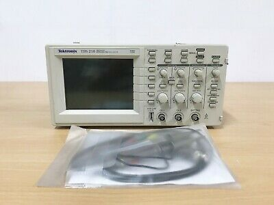 Tektronix Tds210 60mhz 2ch Oscilloscope With P6100 Probes
