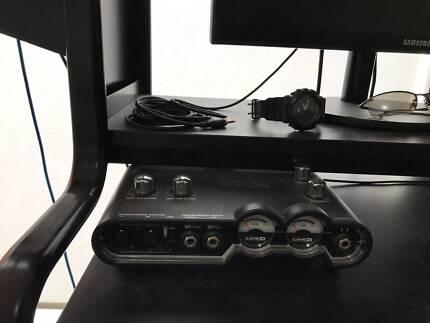KRK Rokit5 pair with UX2 Line 6