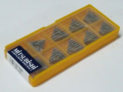 10 Pcs Mitsubishi Carbide Inserts Tcmt 32.51 Tcmt 16t304 Grade Vp15tf
