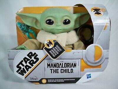 K20F MANDALORIAN THE CHILD MIB MINT IN BOX 7.5 TALKING PLUSH BABY YODA STAR WARS