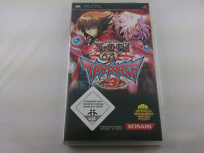 Yu-Gi-Oh GX Tag Force 3 Sony PSP Playstation 2008 Spiel Game guter Zustand ()