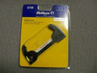 Pelikan S759 One Lift-off Tape Cassette Fits Smith Corona H Series Sears Dx3600