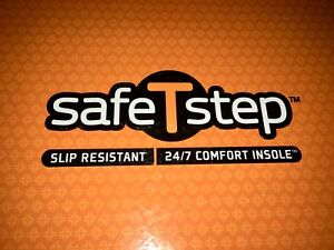 Brand new Safe-T-Step work shoes