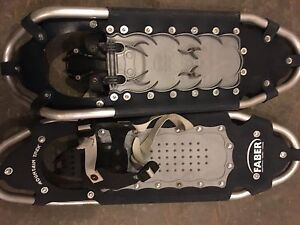 2pairs of Faber snow shoes