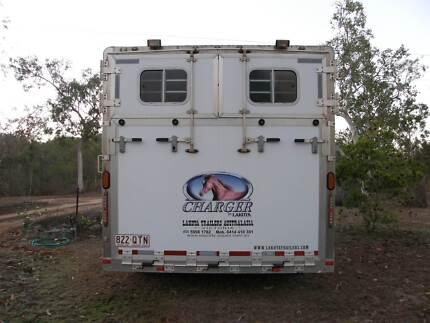 30 ft Aluminium Lakota Gooseneck Horse Trailer Mareeba Tablelands Preview