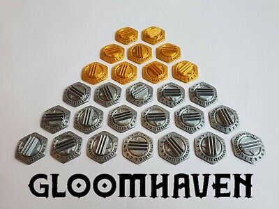 Gloomhaven base esagonale per mostri – hex dial monster base – (stand – support)