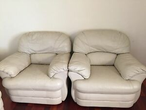 5 seats leather sofas. Hornsby Hornsby Area Preview
