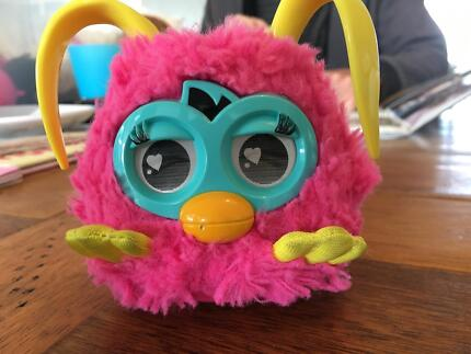 Furby toy , pink