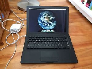 Black Apple Macbook