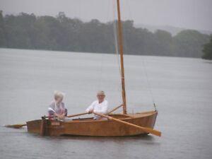 """Corsair"" Custom built wooden sailing boat  with Trailer. Dorrigo Bellingen Area Preview"