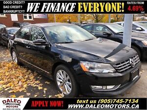2012 Volkswagen Passat 2.5L Highline (A6)|LEATHER|HEATED SEATS|S