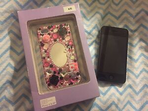 iPhone 4 a1332 ( Telus) with new case