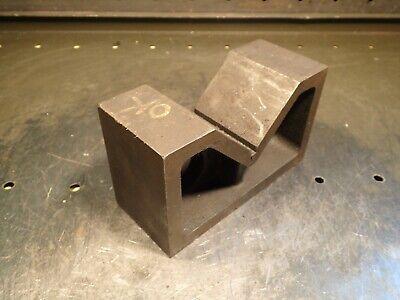 6 X 2-12 X 3-12 Machinist Mill Set-up V-block 3-18 W X 1-12 H Vee