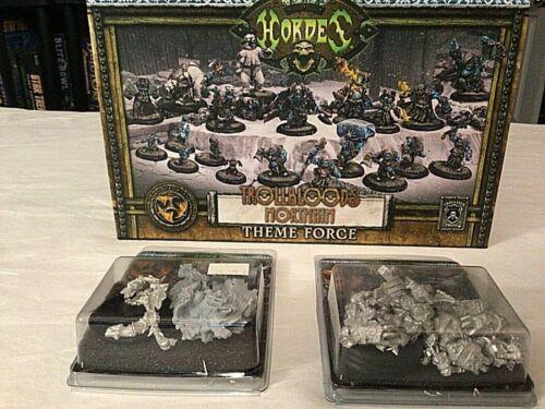 Trollblood Northkin Theme Force + 1 extra warlock & 1 extra unit