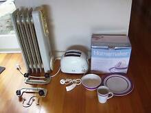 Dinner Set Pots & Pans Toaster Electric Heater & Household Items Paddington Eastern Suburbs Preview