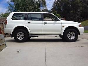 2001 Mitsubishi Challenger Wagon 4x4 Frankston Frankston Area Preview