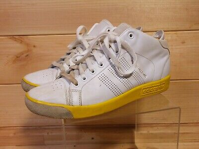 Adidas Forest Hills Mid David Beckham UK 9.5 White/Yellow 2011