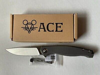 GIANTMOUSE Sonoma Flipper Frame Lock Knife (Titanium/M390) w/Bonus Clip - NEW!