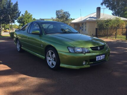 2003 HOLDEN COMMODORE SS V8 MANUAL UTE $6490 (LOOK AT THIS ONE!)