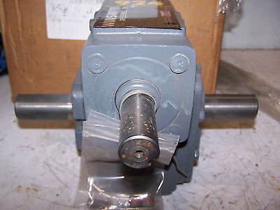 New Winsmith 101 Male Dual Shaft Gear Reducer 924dn 2.77 Hp 1750 Rpm