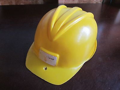 Halloween Costume Hard hat Helmet yellow play Kids Dress up worker builder - Kids Play Hard Hat