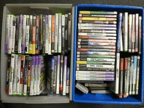 Wholesale Lot 50 Game System Games (Wii, Xbox 360, Playstation, N64, SNES, PS2)