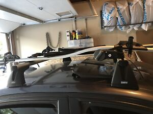 Bmw e90 roof rail with bike rack