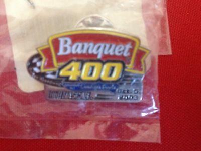 Banquet 400 Oct 5  2003 Conagra Foods Nascar Event Pin 3 4 X1 1 4