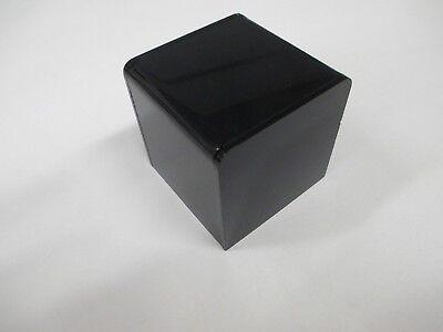 3 X 3 X 3 Black Acrylic 5-sided Display Riser