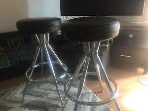 Bar stools Real leather