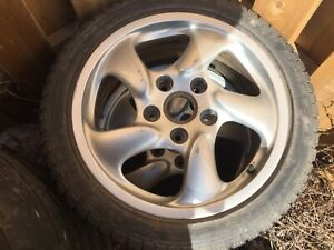 17 inch Porsche Boxster rims and tires