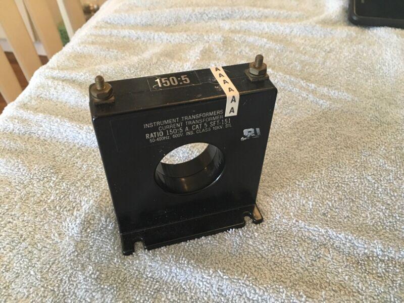 Instrument Transformers Current Transformer 150:5 SFT-151 Bin AR6