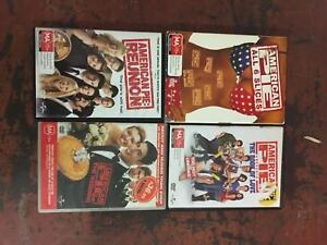 American Pie all 6 slices plus Book of Love and Reunion Dvds Manly Manly Area Preview