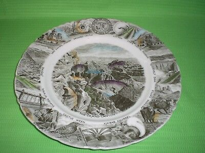 - The Arizona State Plate Made For Diamond's Johnson Brothers Grand Canyon 10 3/4