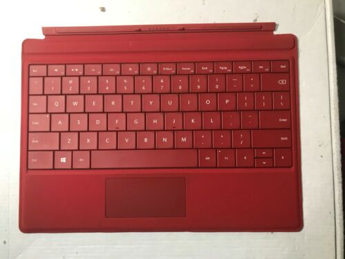 OEM Microsoft Keyboard Red for Surface 3 10.8  Model 1654