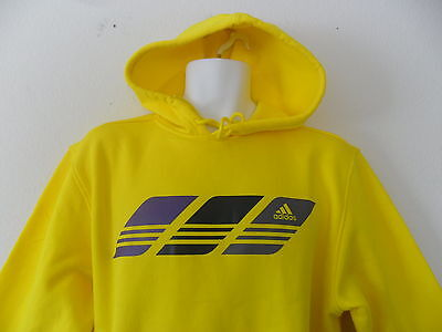 nwt~Adidas SPEED HOODY sweat shirt Fleece Training Running Jogging Top~Men Sz Lg Fleece Running Sweatshirt