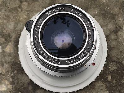 Vintage Schneider Kreuznach Retina-Curtagon f:2.8/35mm Camera Lens