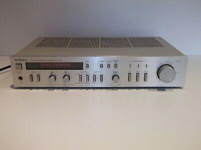 Vintage Technics SU-Z22 HiFi Amplifier Separate Silver Made in Japan 1980s