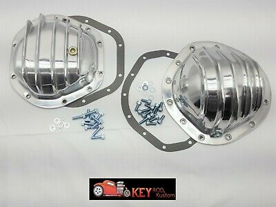 12 Bolt Differential Cover - Polished aluminum differential cover GM 12 bolt truck Dana 44 Chevy GMC K10