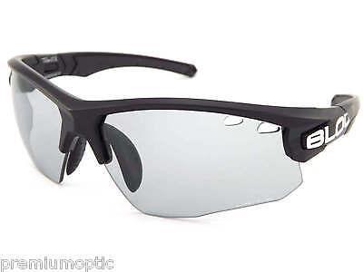BLOC light reactive TITAN sports Sunglasses Black/ Grey Photochromic PH630S](Reactive Sunglasses)