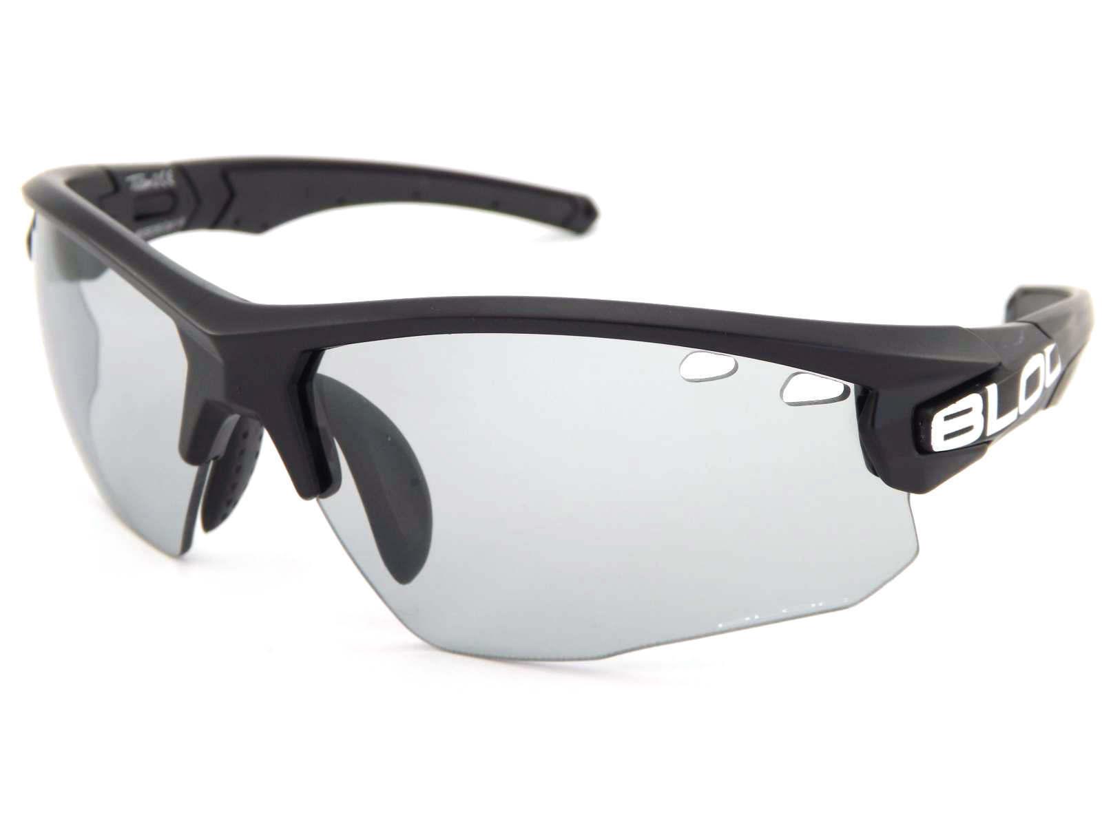 a332abe5e5c5 BLOC light reactive TITAN sports Sunglasses Black/ Grey Photochromic ...