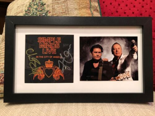 Simple Minds authentic autographed