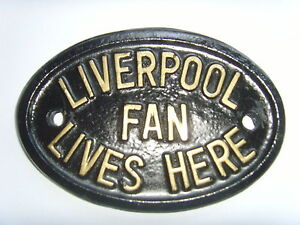 LIVERPOOL FAN FOOTBALL PLAQUE HOUSE SIGN SUAREZ