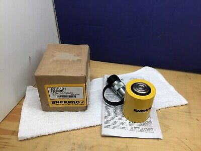 Enerpac Rcs-101 Hydraulic Cylinder 10 Tons 1-12in. Stroke New